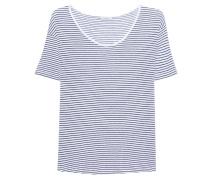 Gestreiftes T-Shirt  // Edita Blue Night