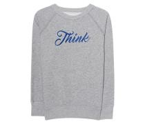 Besticktes Sweatshirt  // Lilly Grey