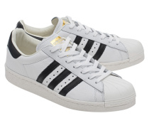 Leder-Sneakers mit BOOST-Technologie  // Superstar Boost White