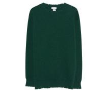 Merinowoll-Kaschmir-Pullover  // Maglia Destroyed Green