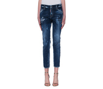 Destroyed Straight-Jeans  // Cool Girl Jean