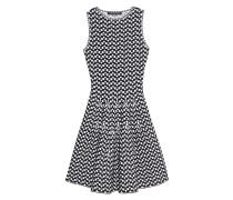 Ausgestelltes Cocktail-Kleid  // Emilia Black White