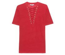 T-Shirt mit Schnürung  // Imis Grenadine