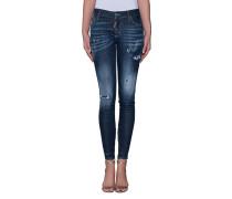 Mid-Waist Skinny Jeans  // Medium Waist Skinny Jeans