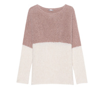 Bubble Knit Cream Mauve