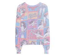 Grobstrick-Pullover mit Multi-Print  // Wonder Woman Multi