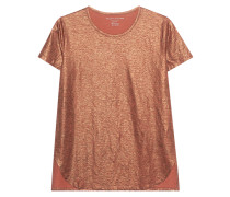 T-Shirt mit Metallic-Finish