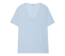 Baumwoll-T-Shirt  // Olivia Cool Blue