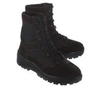 Veloursleder-Boots  // Combat Oil