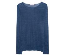 Feinstrick-Pullover aus Leinen