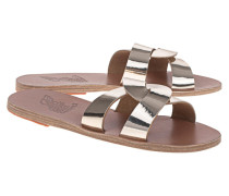 Leder-Sandale mit Riemen