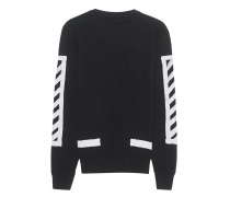 Diagonal Spray Sweat Black