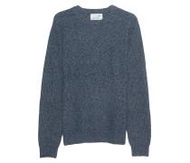 Melierter Strick-Pullover