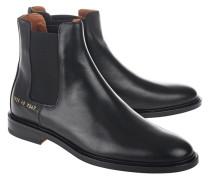 Leder-Boots  // Chelsea Number Black