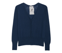 Kaschmir-Mix-Cardigan  // Raglan Sport Cuff Midnight Blue