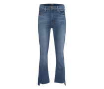Cropped Straight-Leg-Jeans  // Insider Crop Step Fray Not Rough Enough