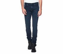 Slim-Fit Jeans  // Straight Blue