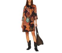 Kleid mit Paisley-Musterung