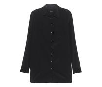 Cleane Seiden-Bluse  // Real Black