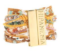 Handgemachtes Armband  // Terracotta Brown