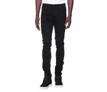 Slim-fit Jeans  // Ronnie Rinse Black