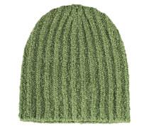 Strickmütze aus Alpaka-Woll-Mix  // Freja Alpaca Ribs Peridot Green