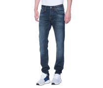 Cleane Slim-Fit-Jeans  // New Rocco Blue