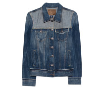 Washed-Out Jeansjacke  // Let Out Seams Blue