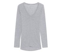 Lockeres Jersey-Longsleeve  // Light Jersey Long Sleeve Scoop Tee Heather Grey