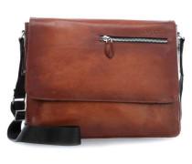 Domus 12'' Laptop Messenger cognac