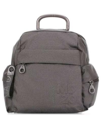 MD20 Lux Rucksack schwarz/silber