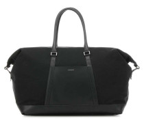 Leather Classic Frans Weekender schwarz