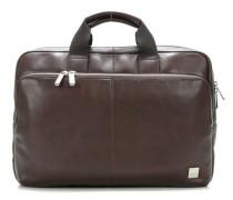 Brompton Newbury 15'' Aktentasche mit Laptopfach braun