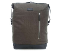 Grand Canvas Adam 15'' Laptop-Rucksack dunkelgrün