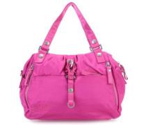 Nylon Cotton Candy Handtasche pink