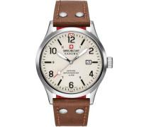 Undercover Schweizer Uhr silber
