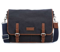 Graham 15'' Laptop Messenger navy