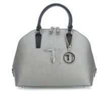 Ischia Ecoleather Handtasche silber metallic