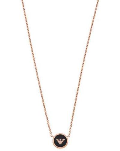 Signature Halskette roségold