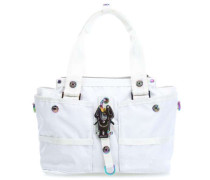 Basic Nylon Evil Chique Handtasche weiß