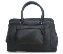 Double dyed Lome Shopper schwarz