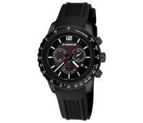 Roadster Black Night Chrono Chronograph schwarz
