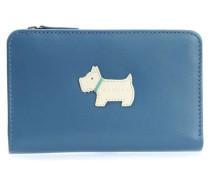 Heritage Dog Geldbörse Damen blau