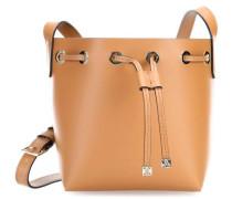 Minibag Beuteltasche hellbraun