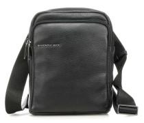 Detroit Leather Umhängetasche schwarz