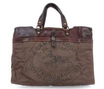 Castagno 12'' Aktentasche mit Laptopfach braun