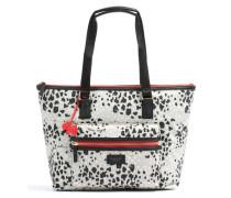 Leopard Shopper 14″ grau