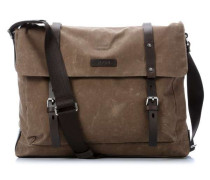Waxed Canvas Kimon 15'' Laptop Messenger natur