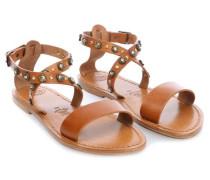 Sandals 40 Schuhe cognac
