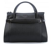 Heritage Handtasche schwarz